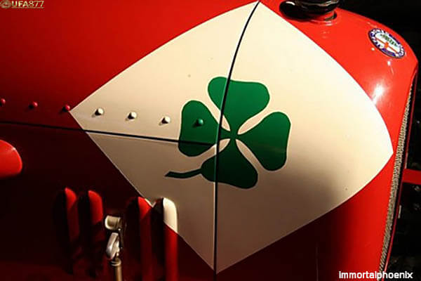 Original logo Alfa Romeo